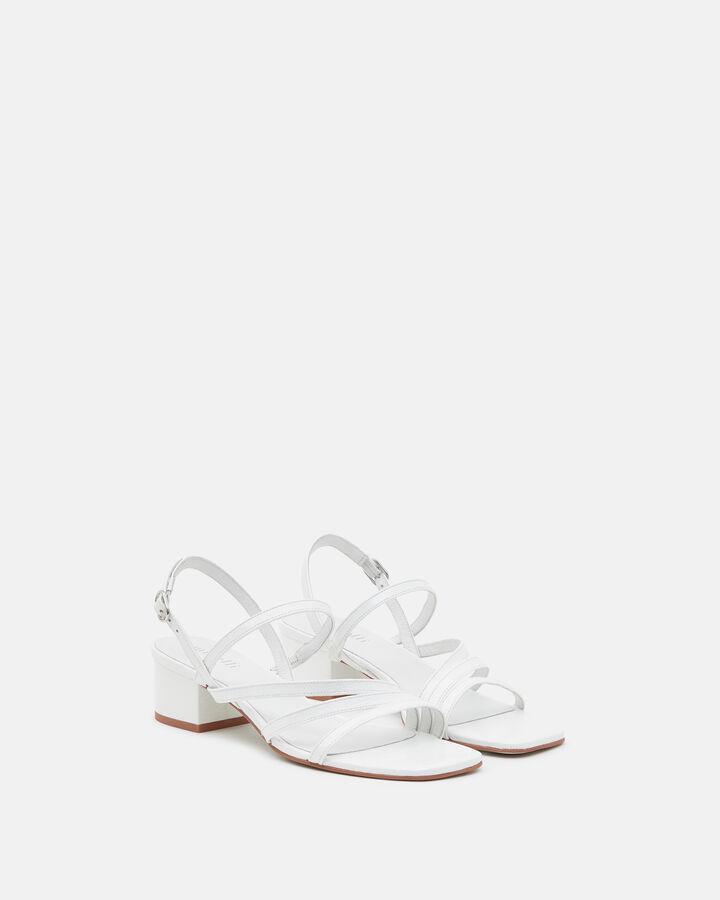 Sandale plate - Hannha, BLANC