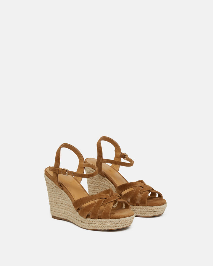 Sandale à talon - Tevya, CUIR