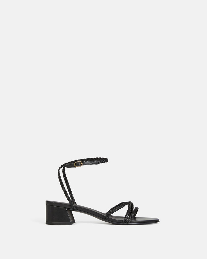 Sandale plate - Hariette, NOIR