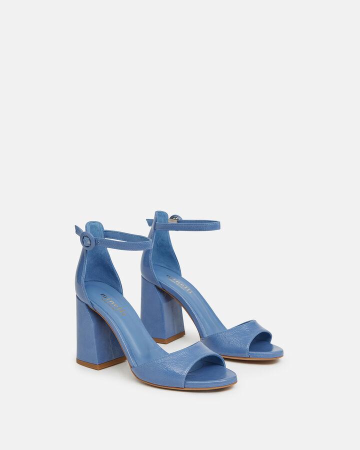 Sandale à talon - Tathiana, BLEU