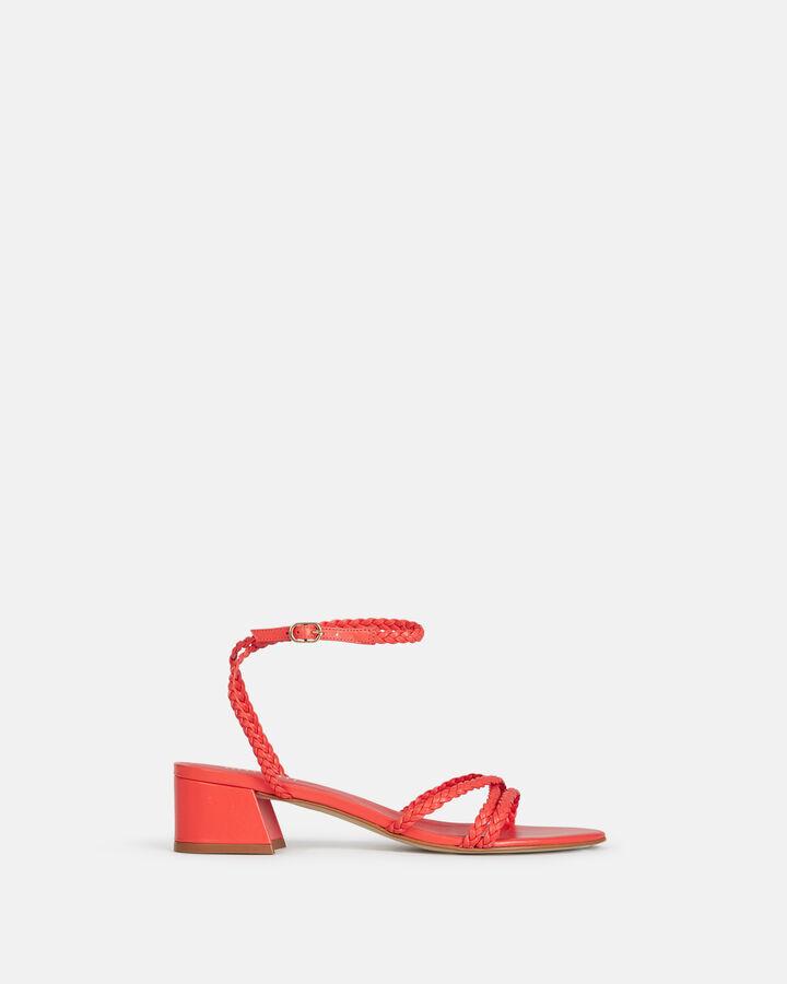 Sandale plate - Hariette, COQUELICOT