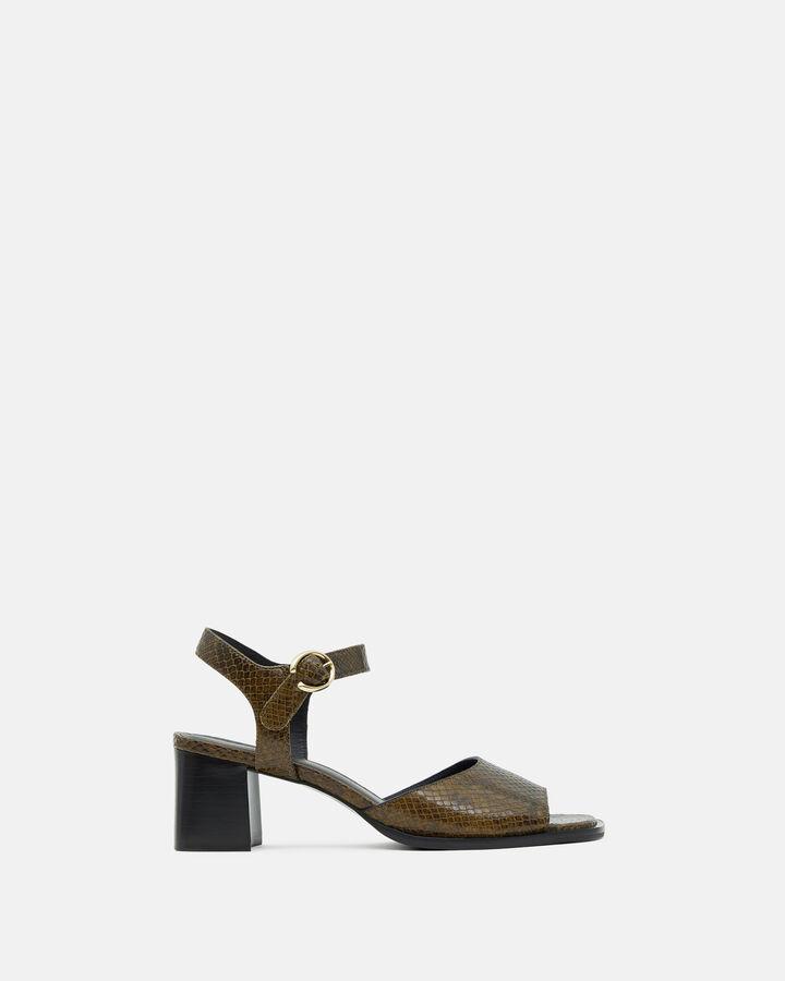 Sandale à talon - Tahis, KAKI