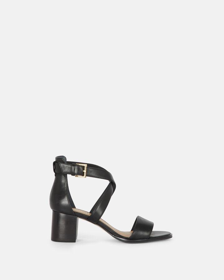 Sandale à talon à talon - Cherin, NOIR