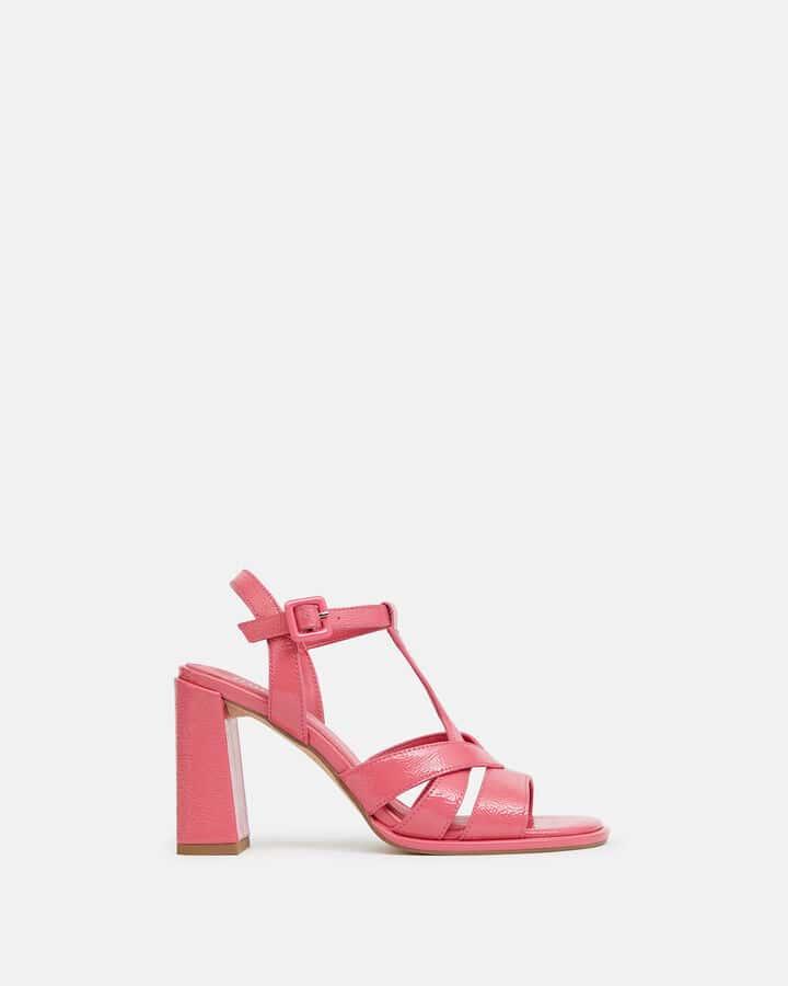 Sandale à talon - Teolina, ROSE