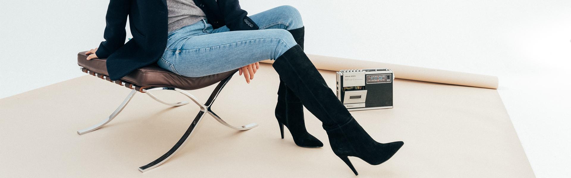 Bottes femme , la collection botte et cuissarde pour femme